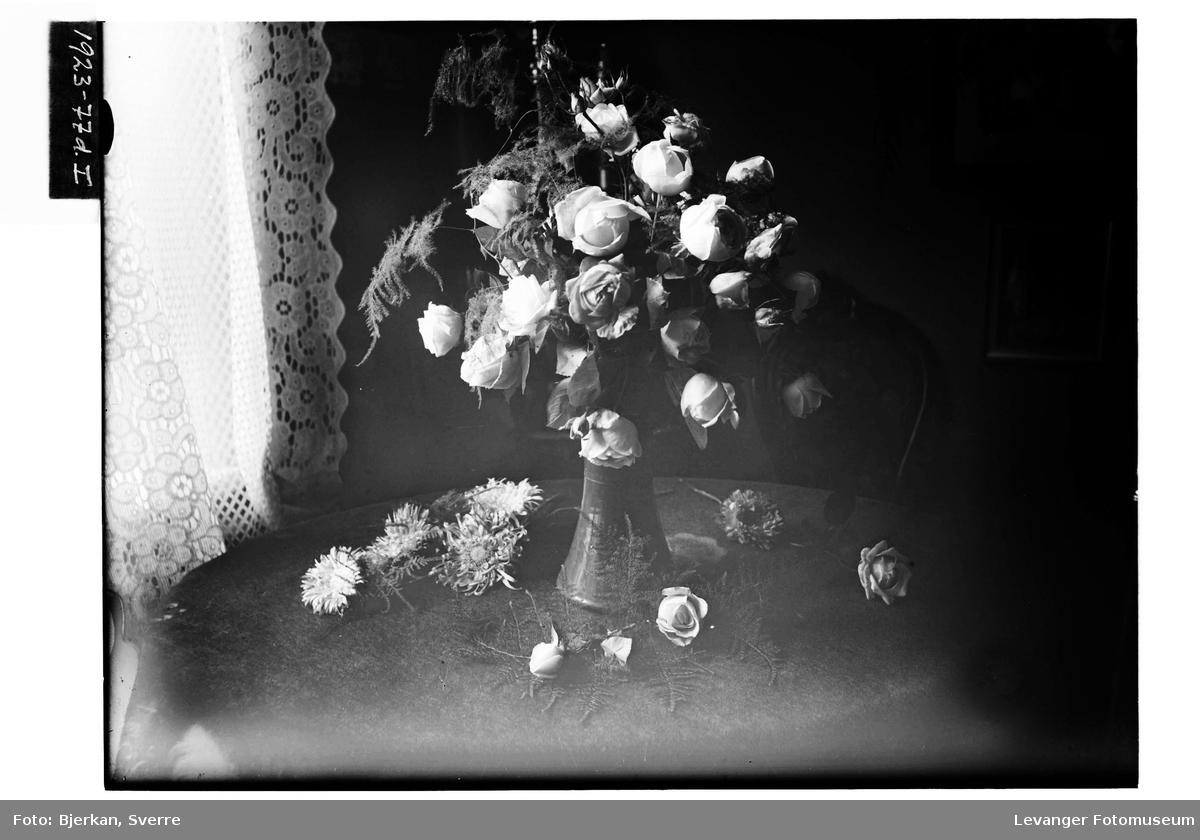 Blomster hos gartner Huseby IV