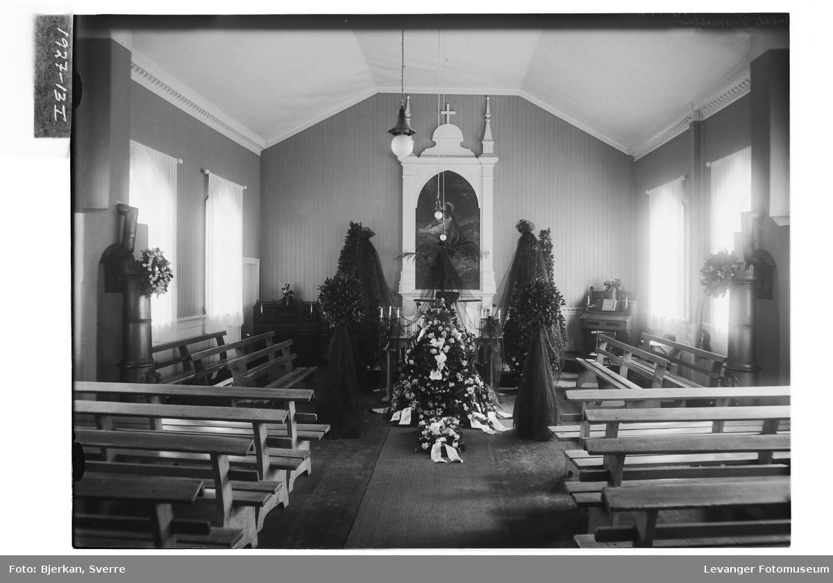 Sverre Thomassens begravelse i Bethania