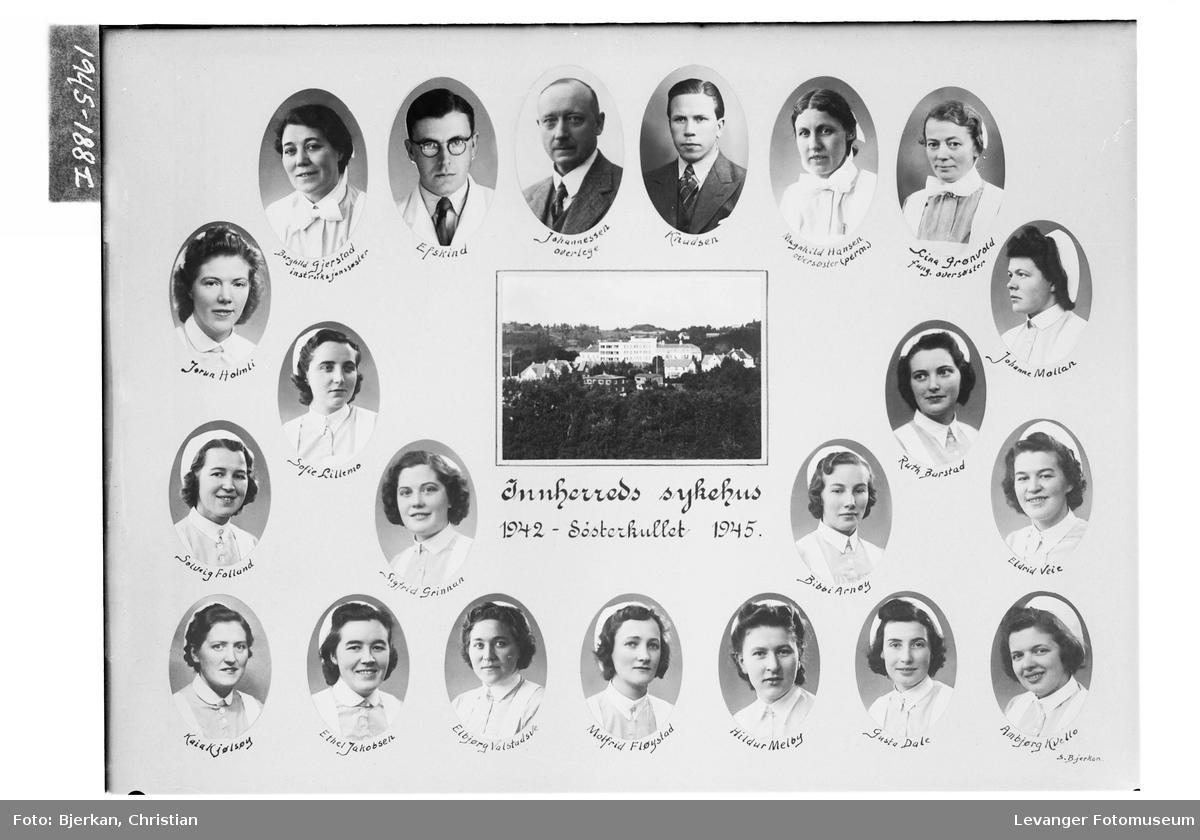 Søsterkullet ved Innherred Sykehus 1942-45