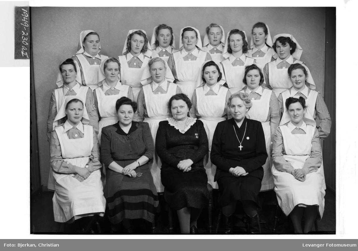 Levanger Husmorvikarskole, 1949