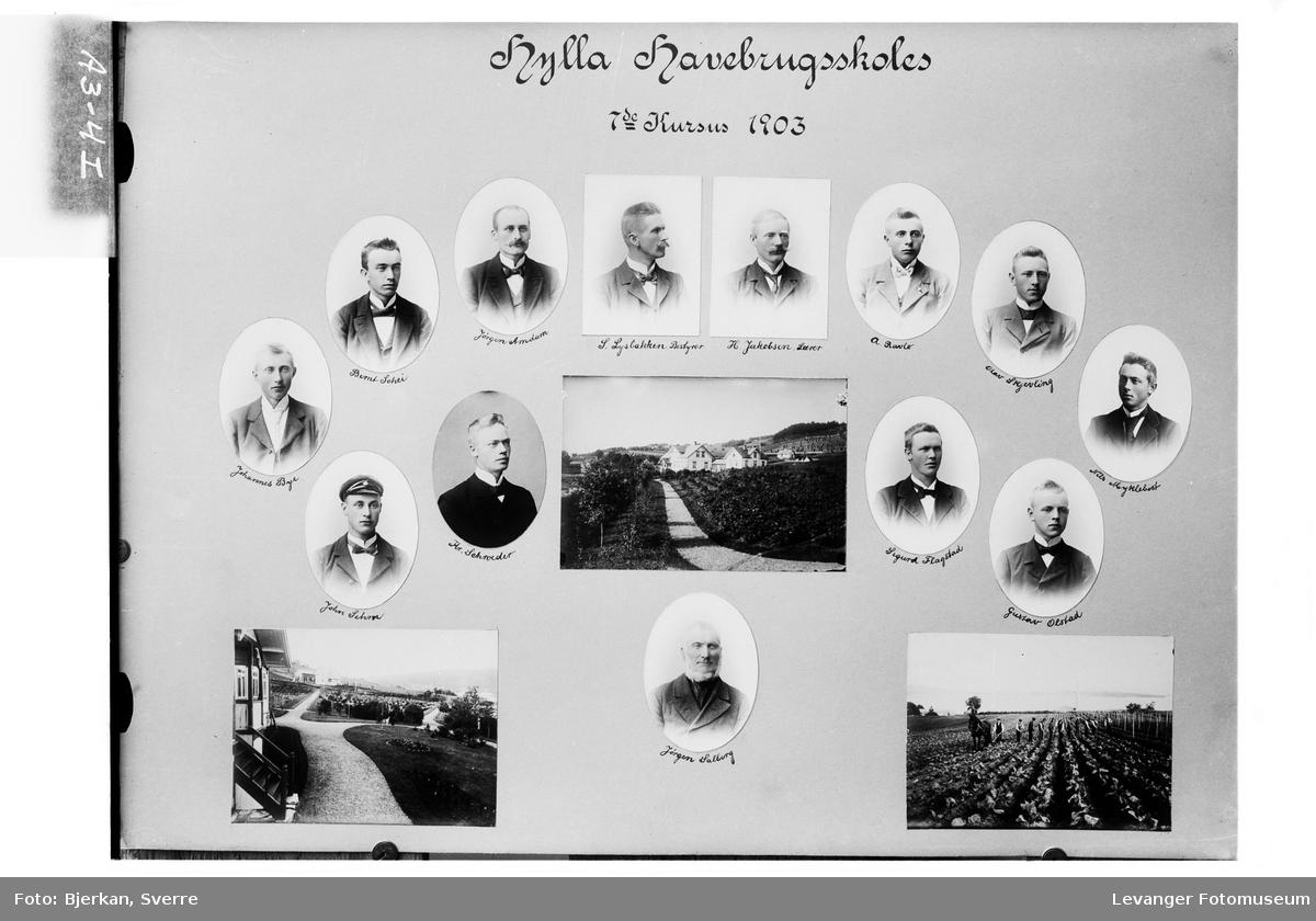 Hylla Havebrugsskoles 7de Kursus, 1903