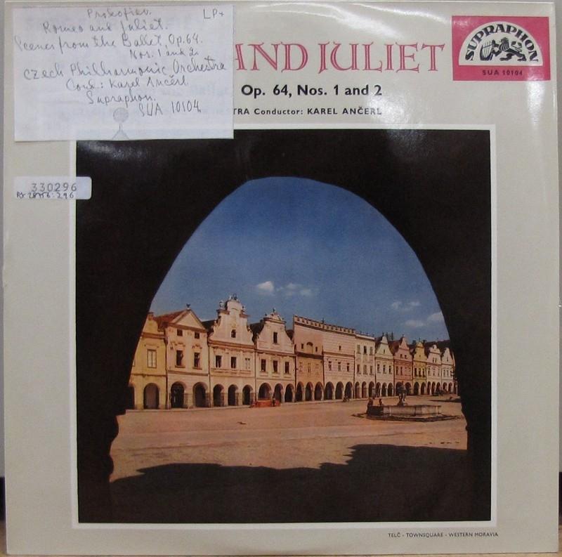 LP-skiva av märket Supraphon