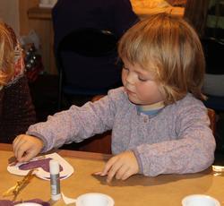 Juleverksted på Berg-Kragerø Museum den 24.11.2013. Kragerø