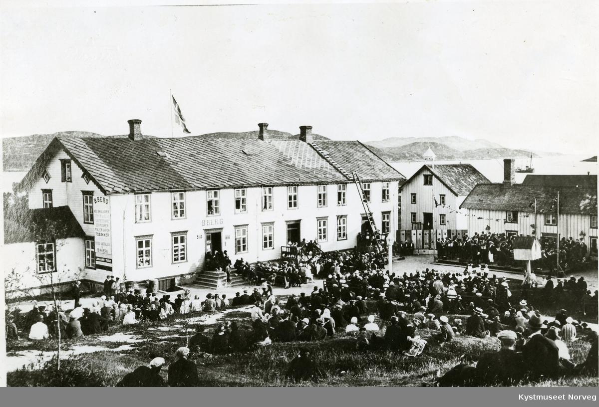 Rørvik, Musikkstevne på Berggårdstunet
