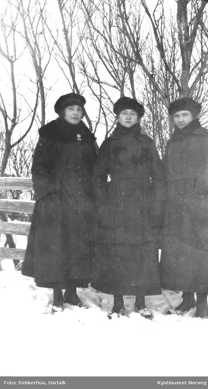 Agnes, Laura og Hildy Røsten