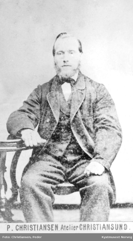Portrett Abraham Hellesø Jakobsen