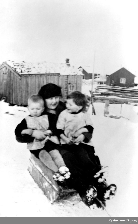 Gunvor Suleng Svendsgård med ukjente barn