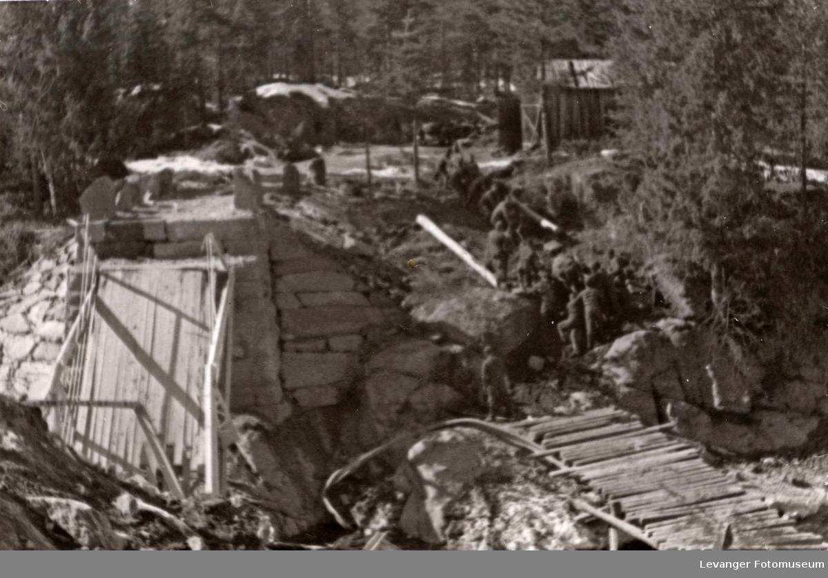 Ukjent bro over Gudbrandsdalslågen.