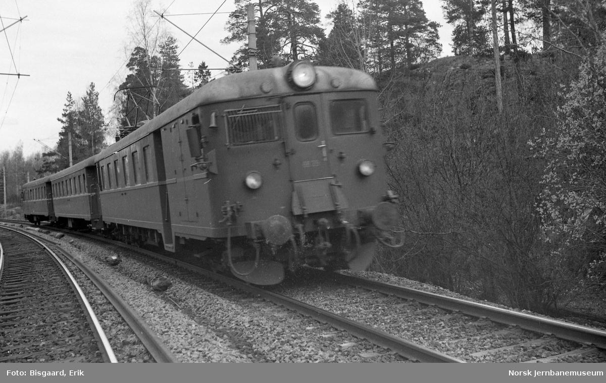 Motorvognsett type 68B på Østfoldbanen