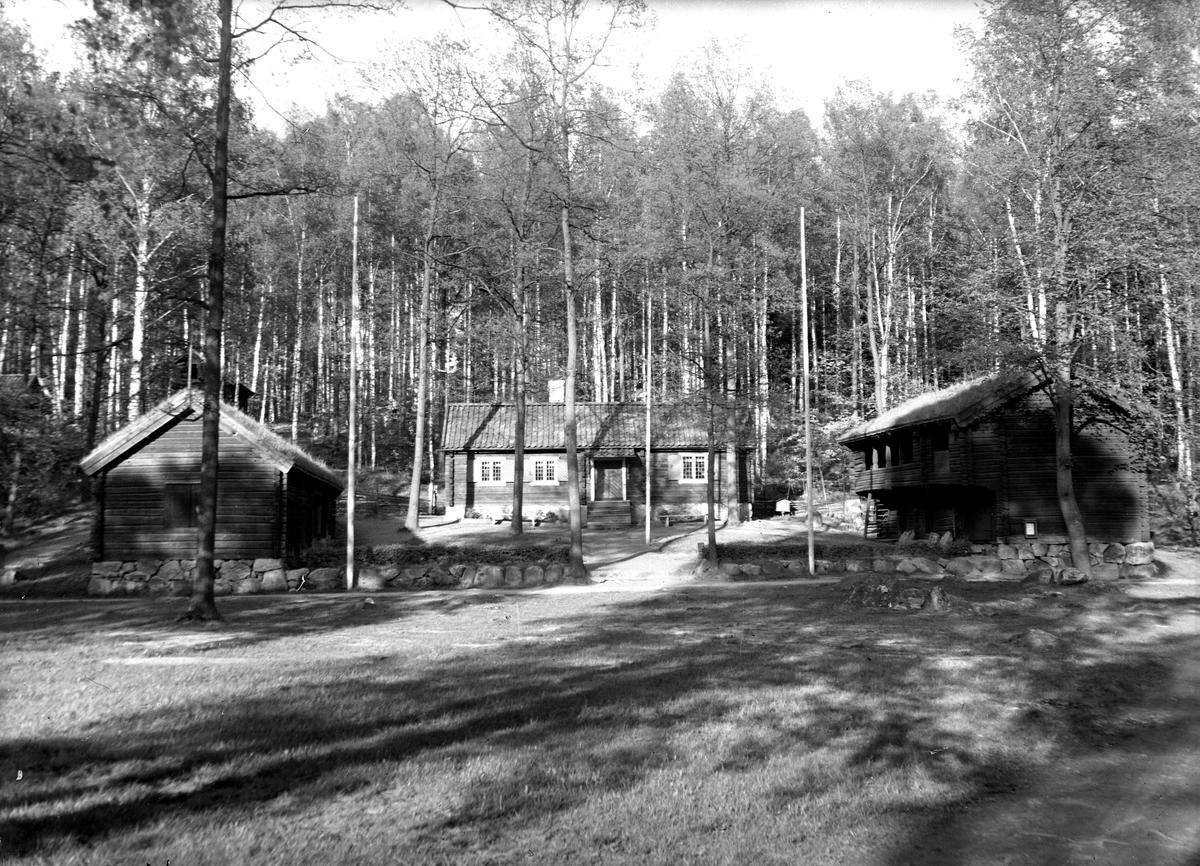 Gammelgården, från väster.  Fotograf KJ Österberg.