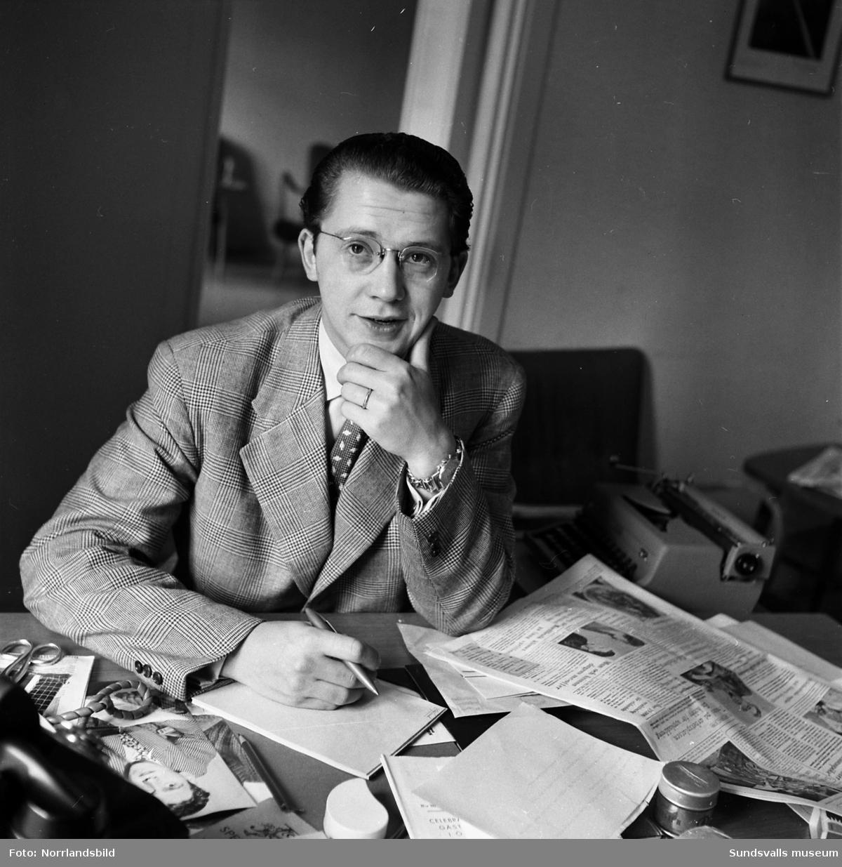 Oskar Haag, Sundsvall, 75 år. IOGT.
