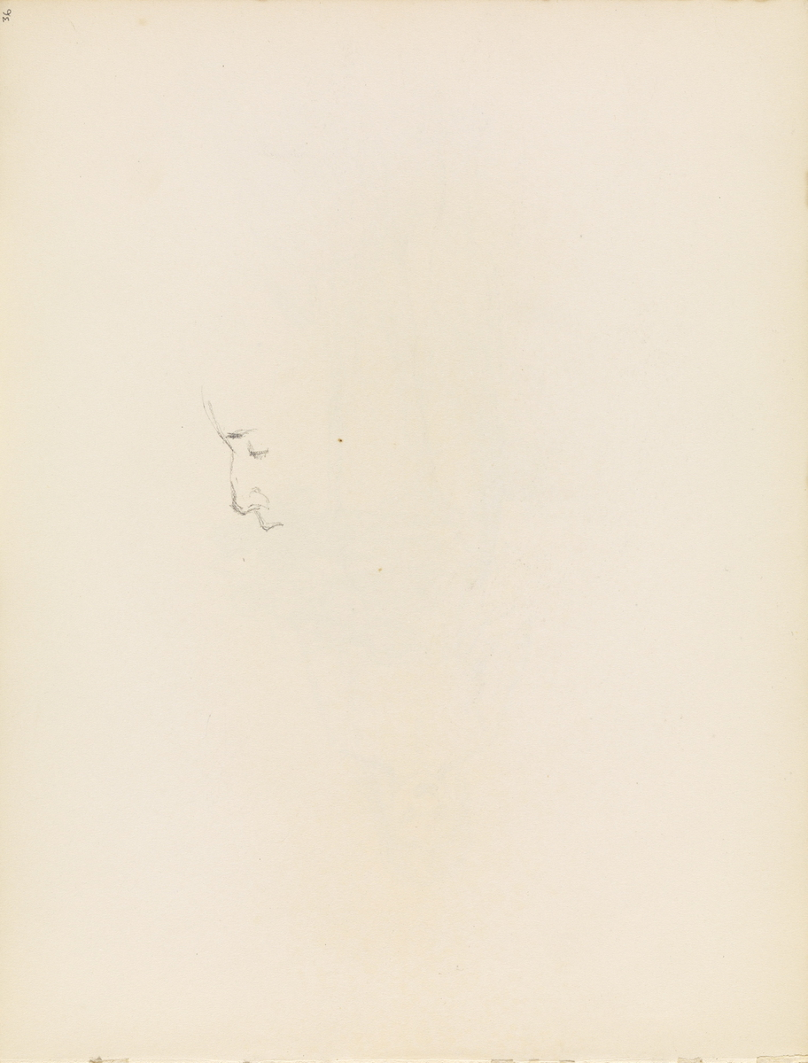 Riss av profil [Tegning]