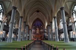 Oscar Fredriks kyrka, uppförd 1889-93 efter ritningar av Hel