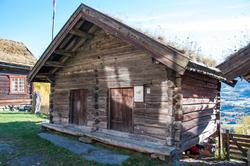 Stolphus fra Sundremyren på Ål Bygdamuseum, Leksvol