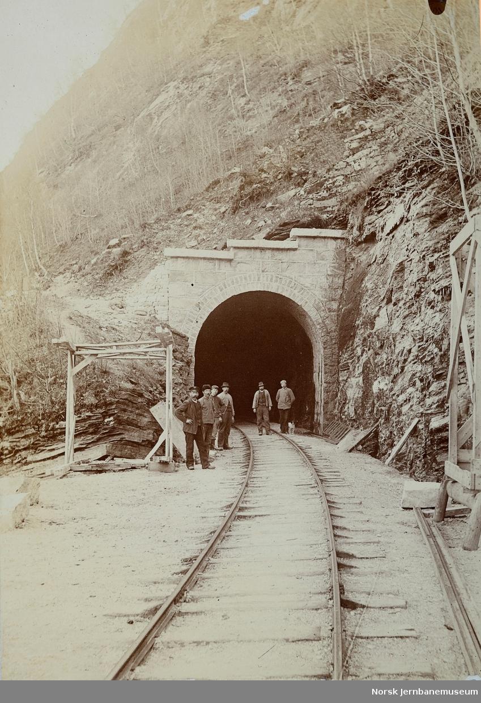 Kattegjelet tunnel, ny tunnelportal