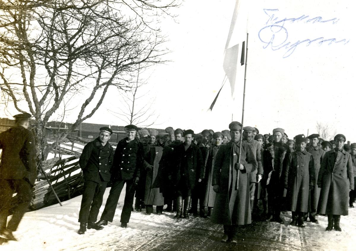 Tyska och ryska soldater på Åland