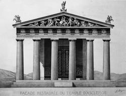 Epidaure. Asklepios Tempel
