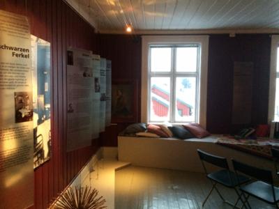 Damen i Berlin, oversiktsbilde rommet 2, foreløpig. Foto/Photo