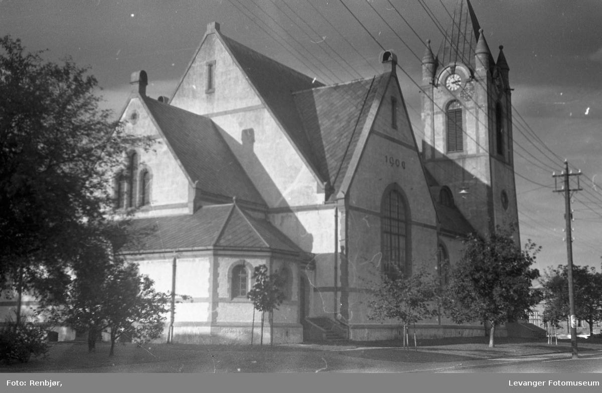 Levanger kirke fra 1902