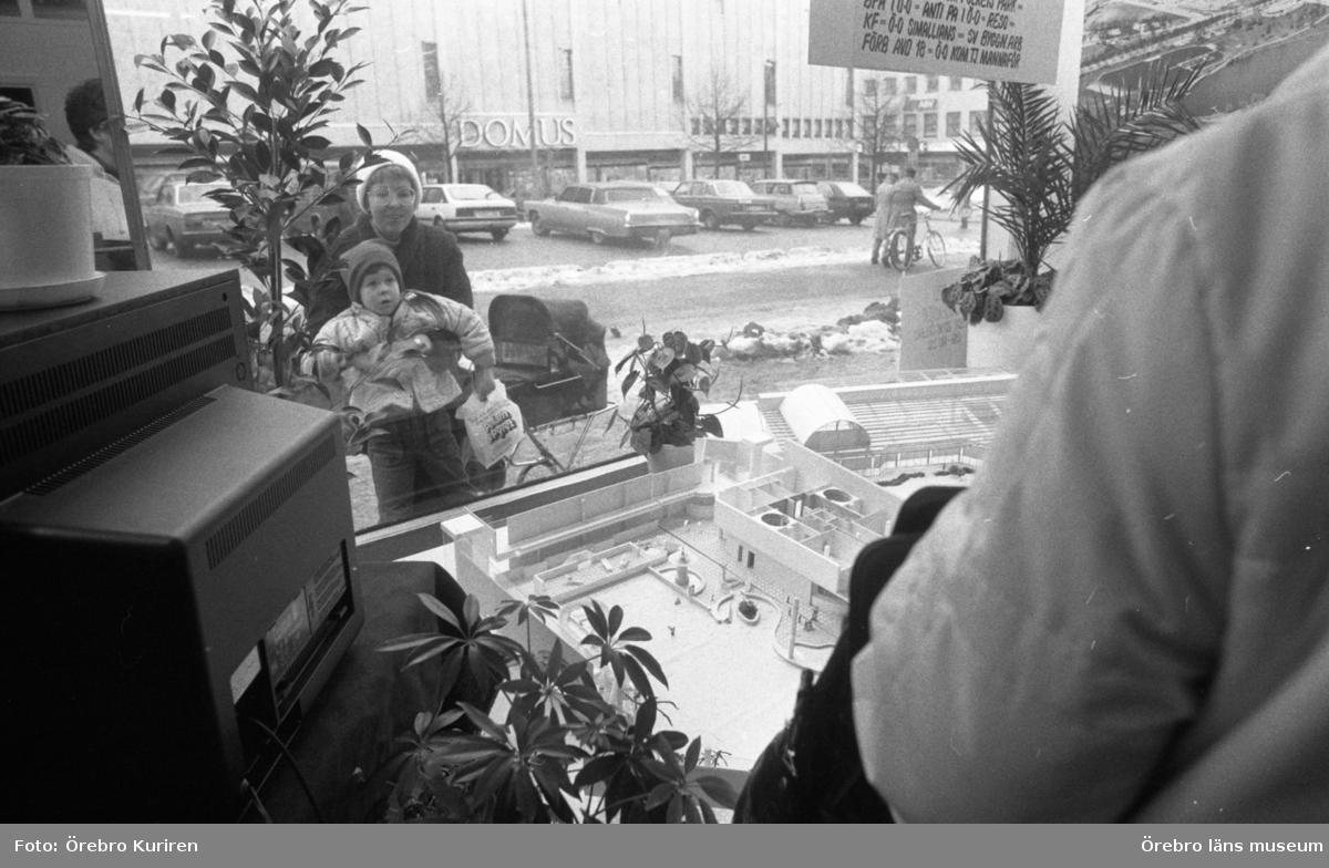 Örebro Fritidscenters lokal 14 mars 1985