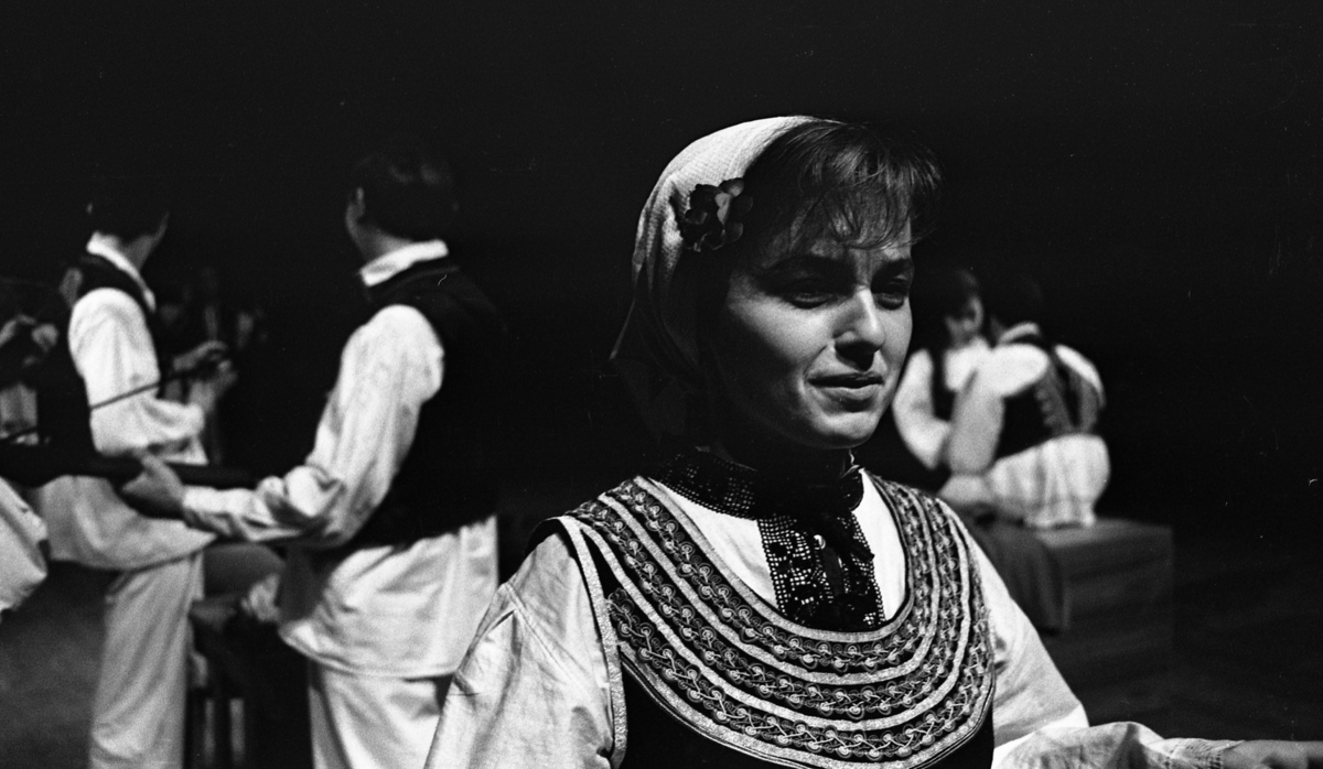 Jugoslaviska folkdansare 12 april 1965