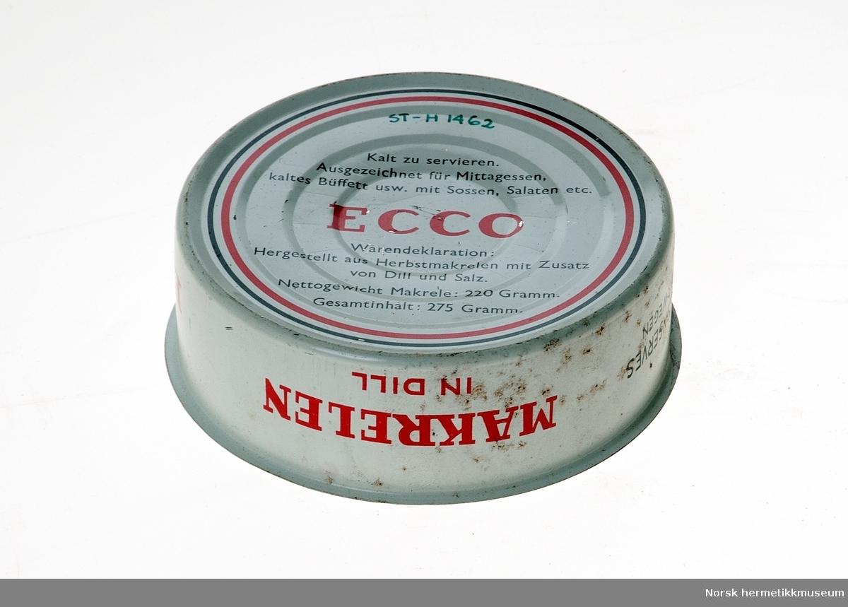 Makrelen in oil, Ecco
