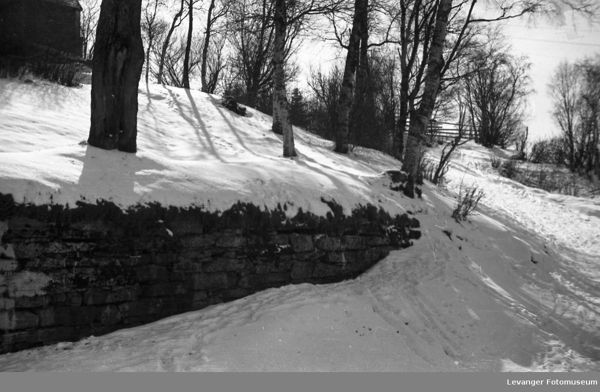 Vintermotiver. Nederst i Brusvebakken.