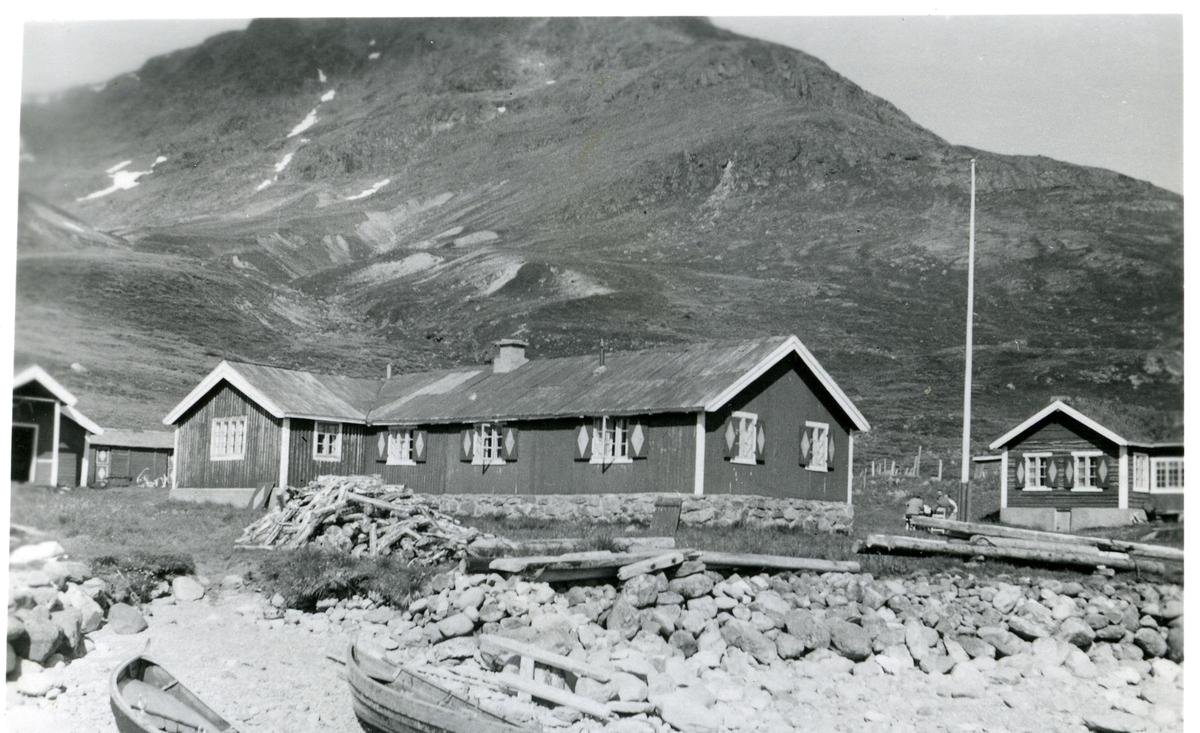Torfinnsbu ved Bygdin i Vang i Valdres.