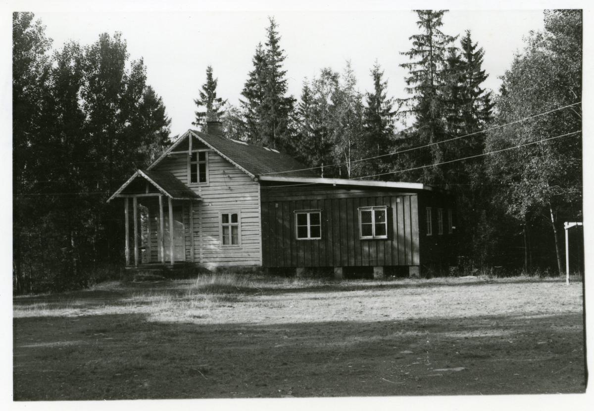 Flatøydegarden skule  i Etnedal i Valdres. Nå nedlagt.