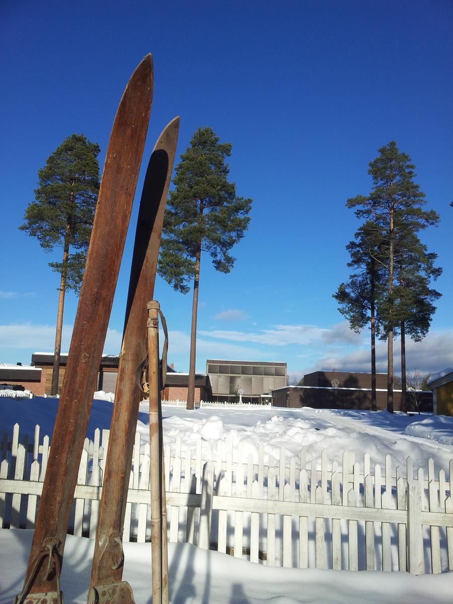 Gamle ski