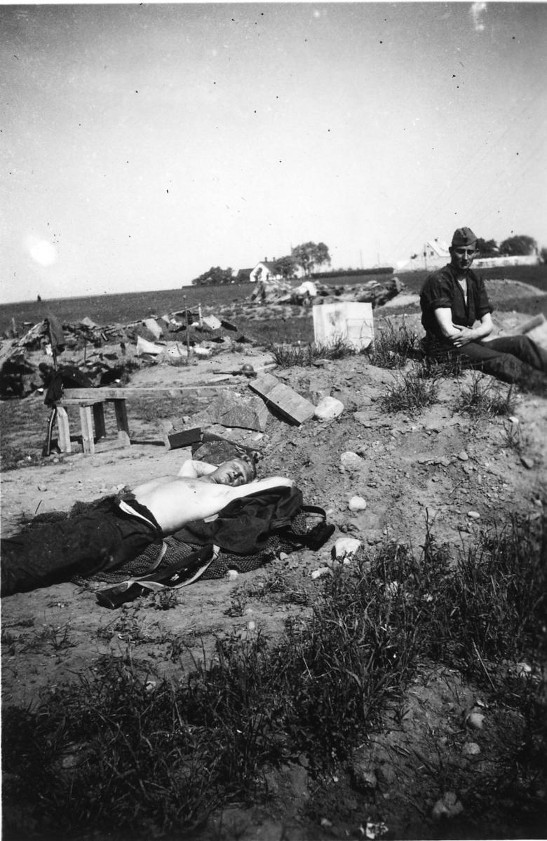 Beredskap. Soldater, vilande. Skåne, A 6.