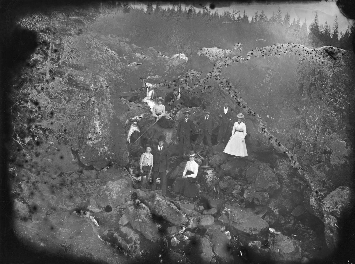 Grupp vid Torgåsvalla