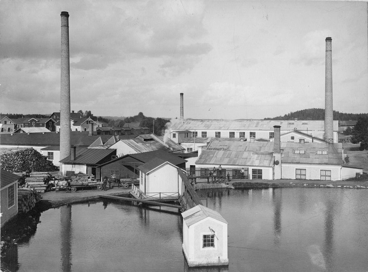 Annebergs Tändsticksfabrik.