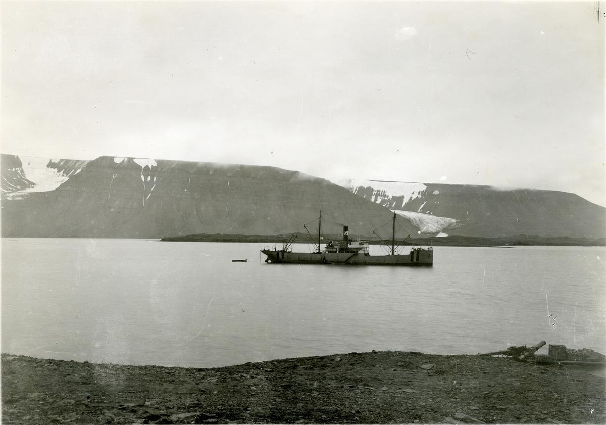 Sveagruvan. Amsterdam på redden 1918.