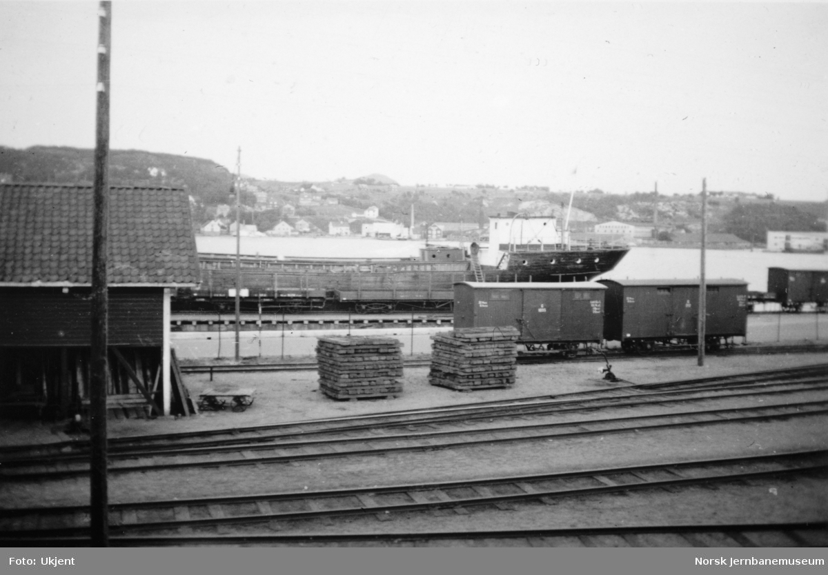 Spor på Sandnes stasjon
