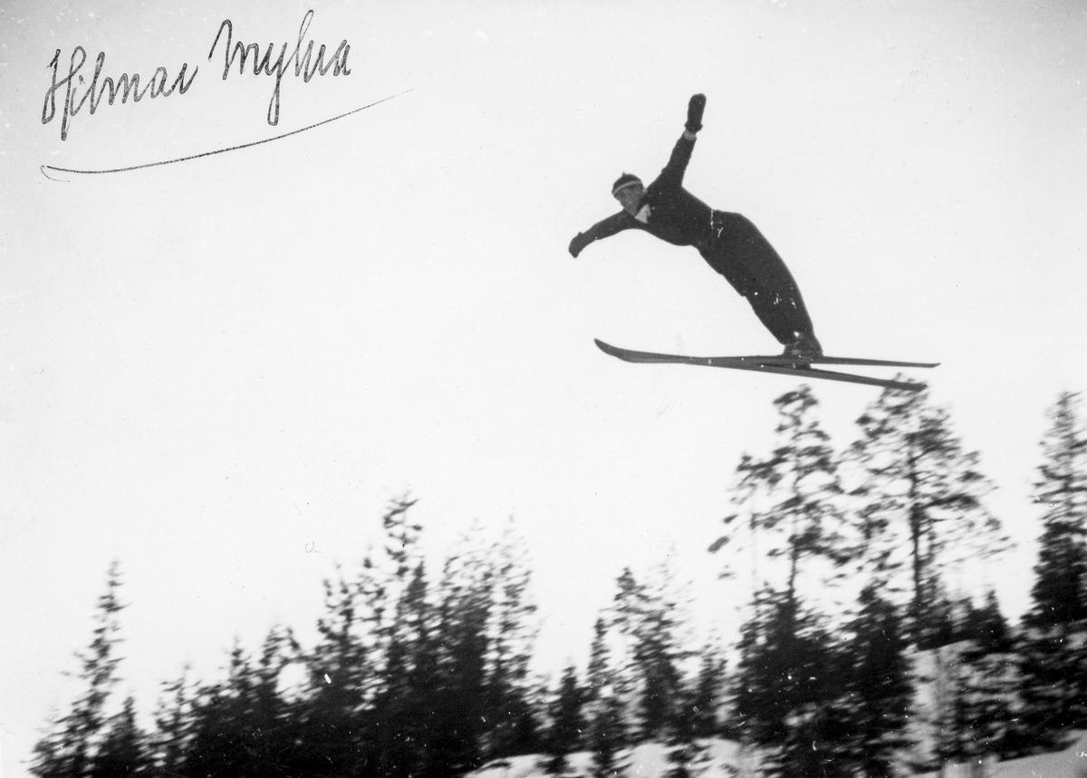 Kongsberg skier Hilmar Myhra