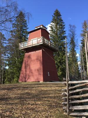 Brannvakttårnet. Foto/Photo