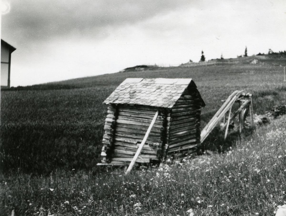 Et kvernhus i Kollstad i Øystre Slidre kommune, Valdres.