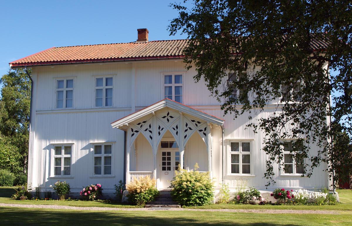 Eidskog skolemuseum ligger i den gamle skolebygningen på Matrand. (Foto/Photo)
