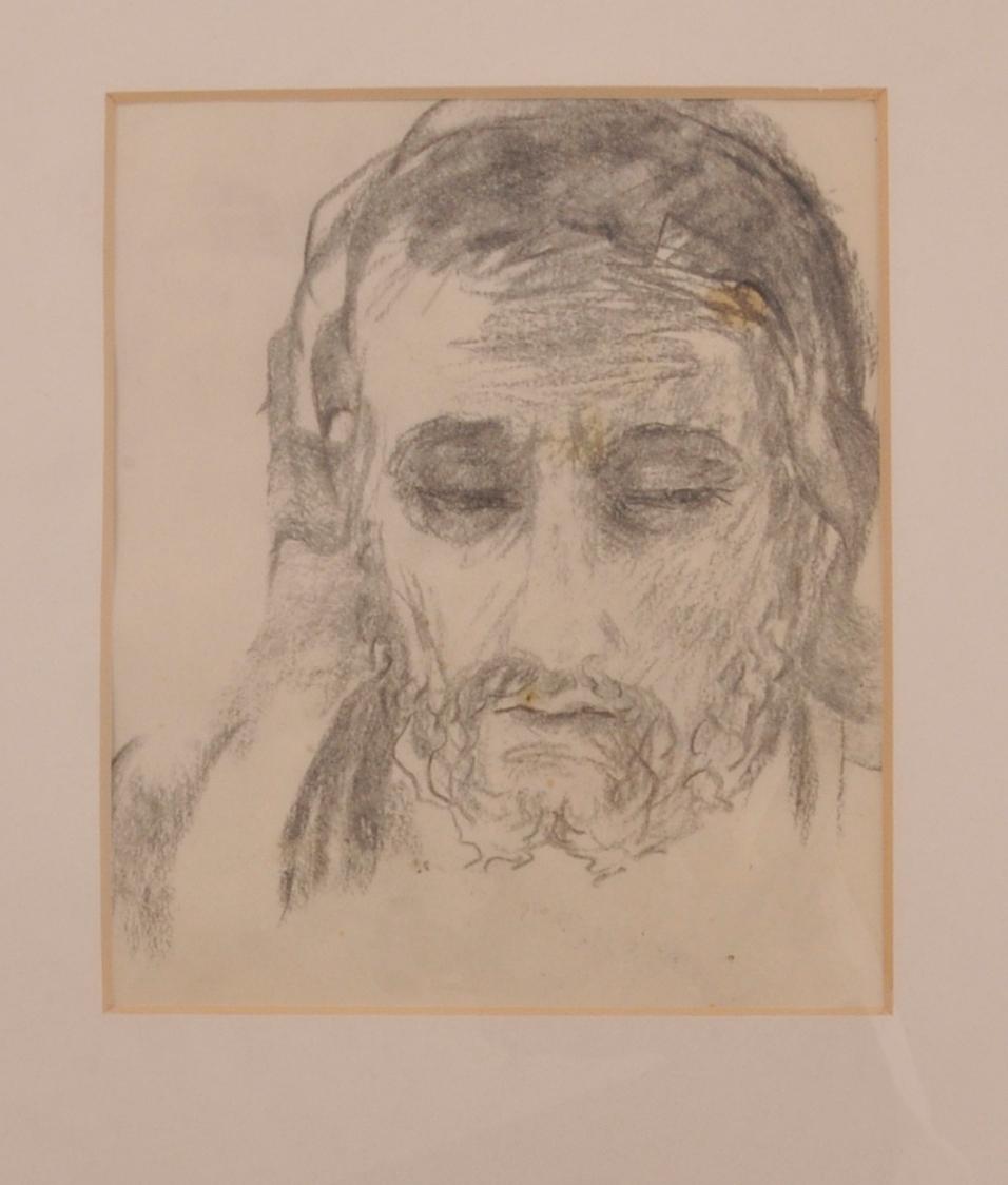 Andletsportrett av apostel.