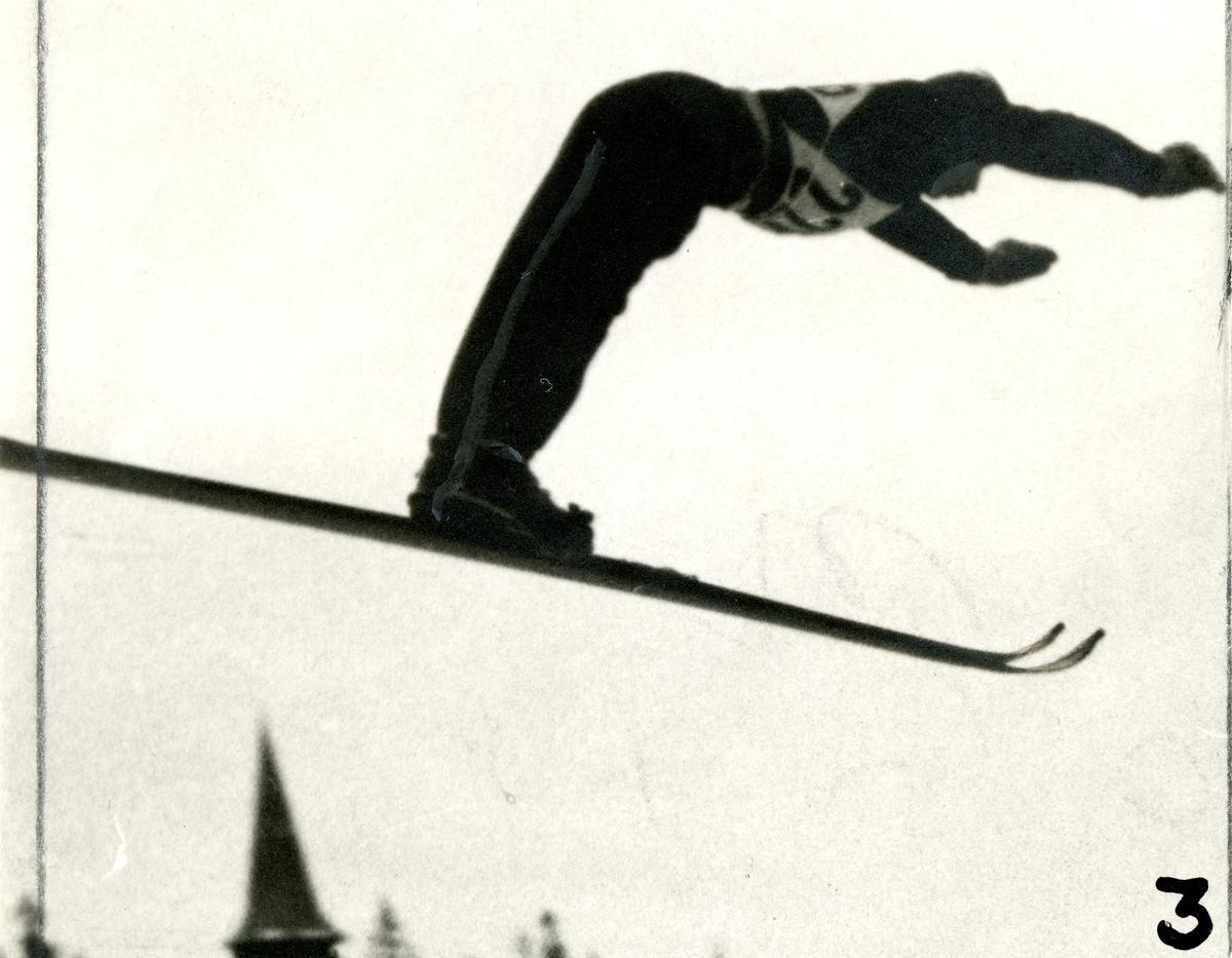 Kongsberg skier jumping at Holmenkollen