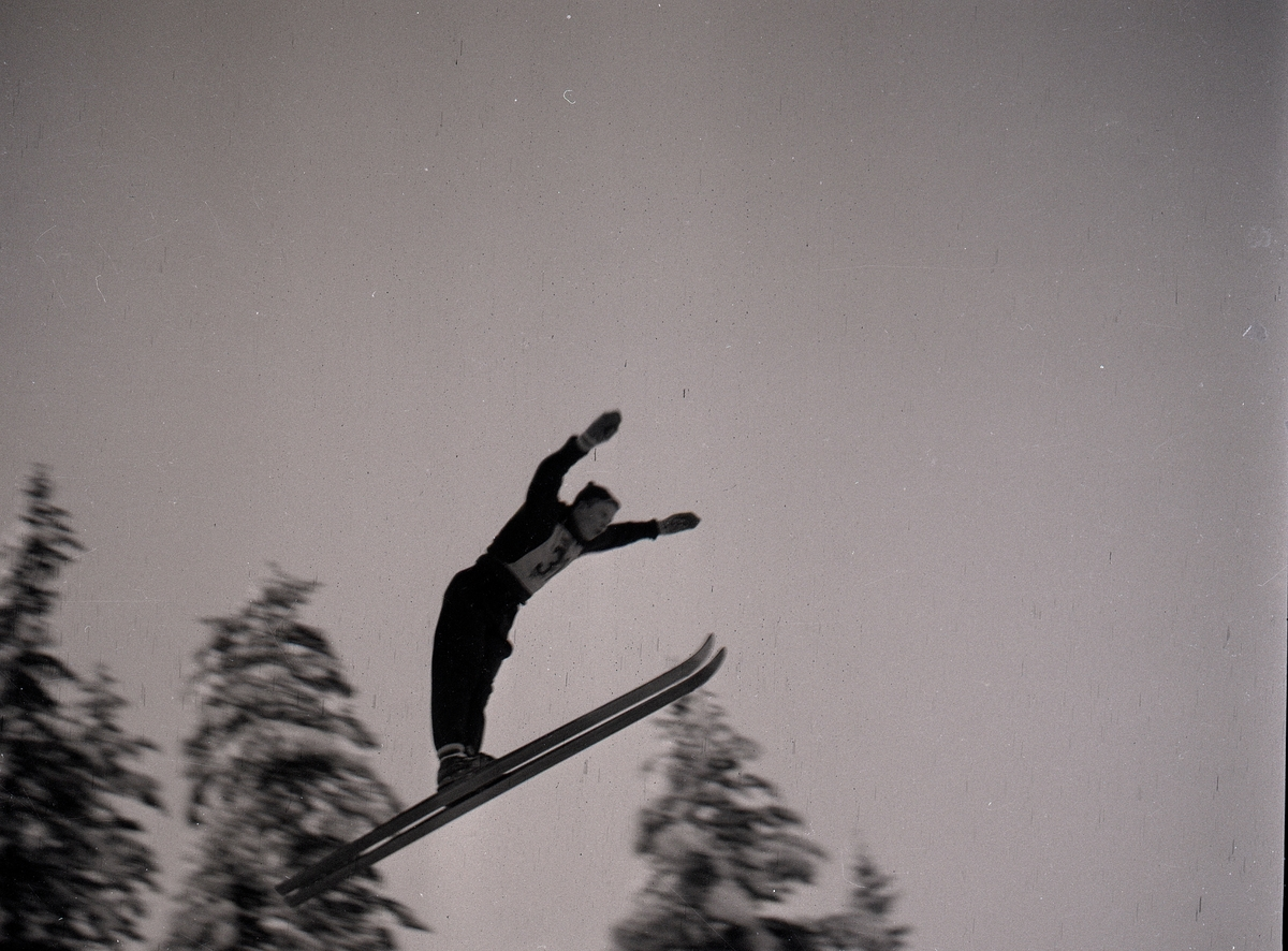 Ski jumping at Persløkka, Kongsberg