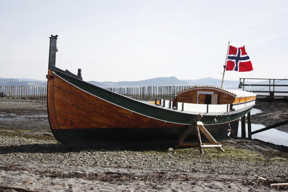 Åfjordsbåt.