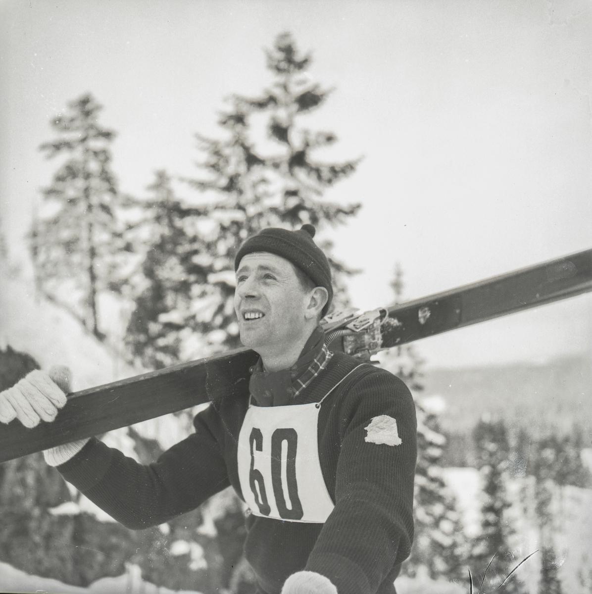 A Kongsberg skier