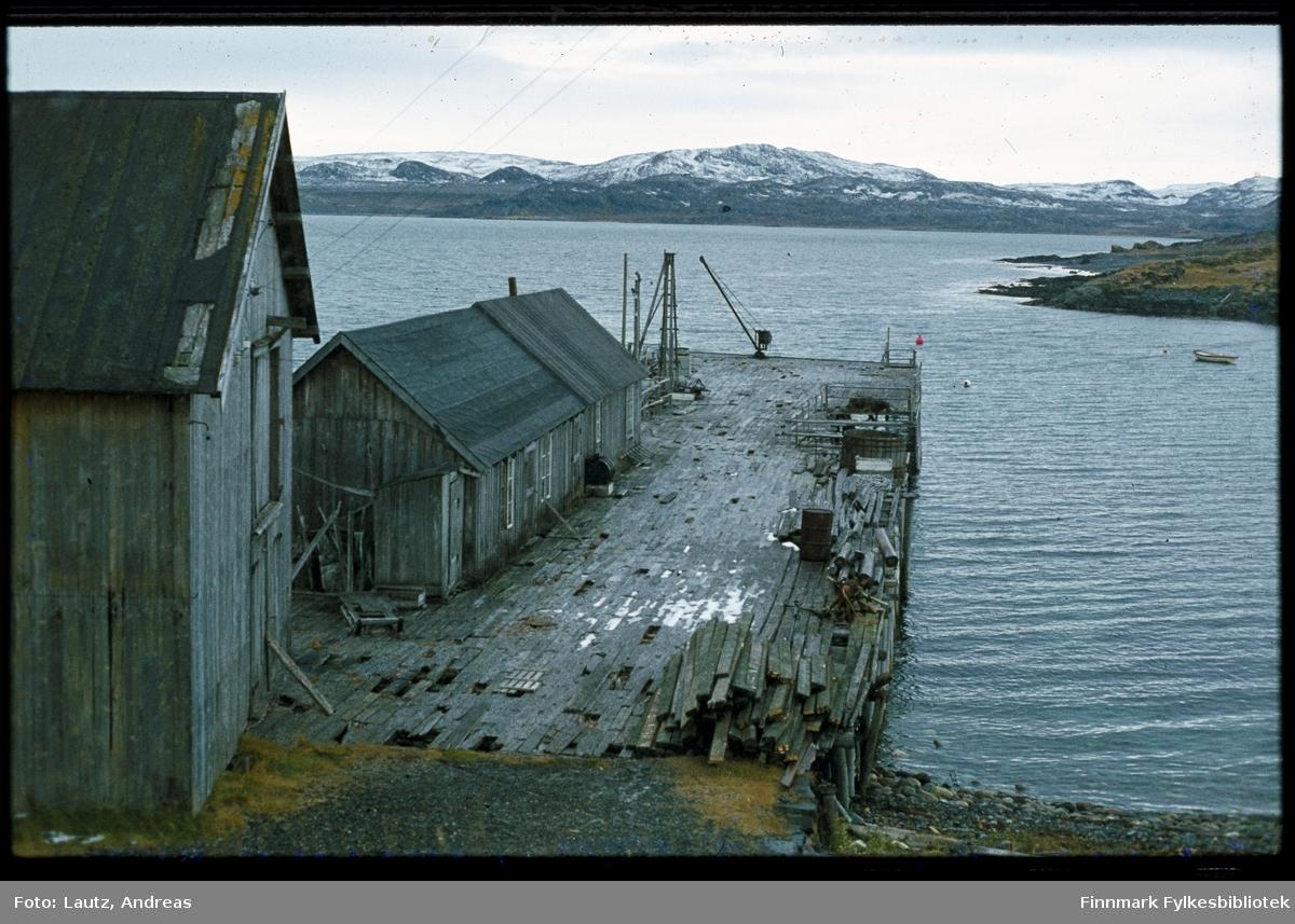 Kongsfjord i 1975. Forfall.