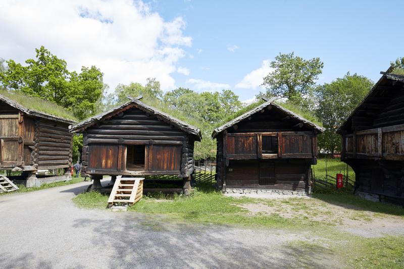 Hallingdalstunet på Norsk Folkemuseum (Foto/Photo)