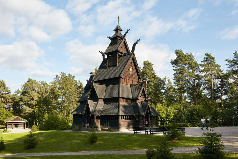Stave Church at Norsk Folkemuseum (Foto/Photo)