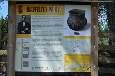 Info board at By.