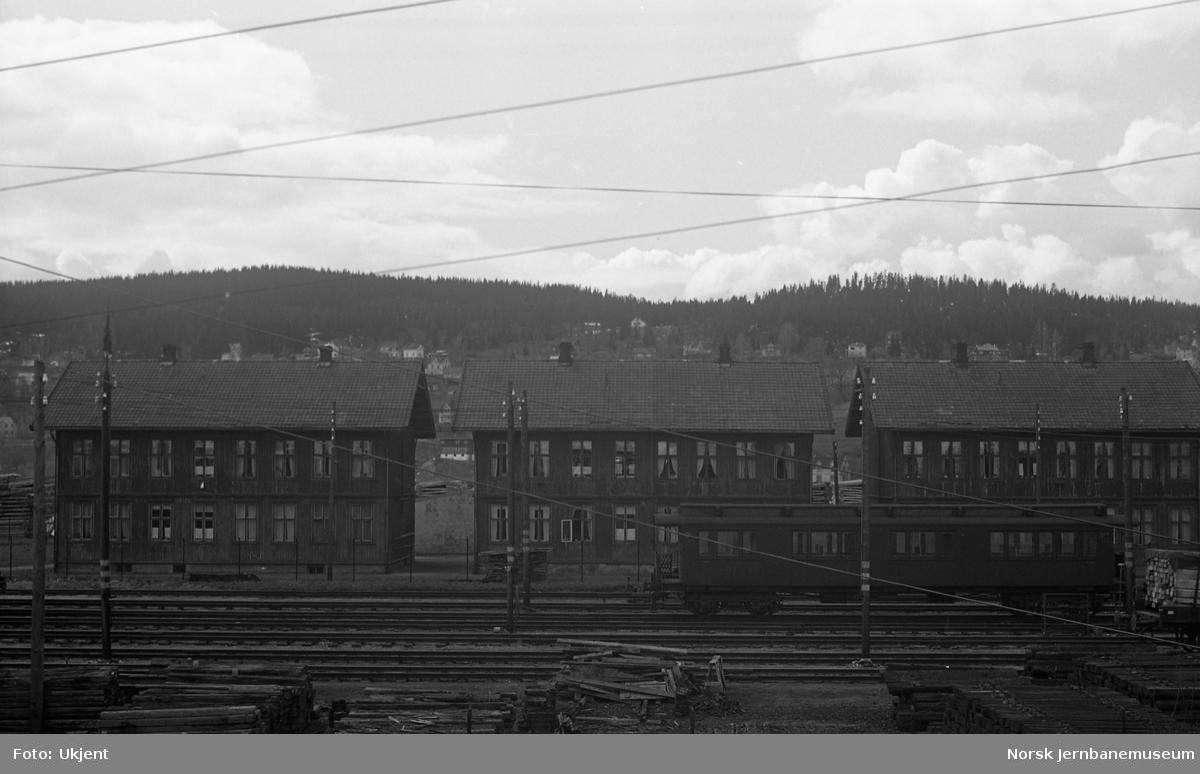 Jernbaneboliger på Lillestrøm