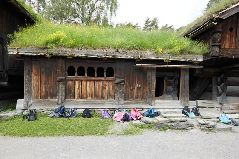 Årestua fra Åmlid i Valle. (Foto/Photo)